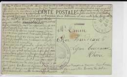 1914 - CARTE POSTALE De COUTANCES (MANCHE) - HOPITAL COMPLEMENTAIRE N°49 - WW I
