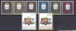 FRZ377  - LETTONIA 1991,  Serie N.  269/276  ***   Stemma - Lettonia