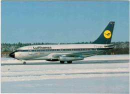 Thème - Transport - Avion -  Aeroprint - N°55 - Lufhansa Boeing 737-230 Advanced D ABFH In Stockholm Arlanda - 1946-....: Moderne