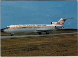 Thème - Transport - Avion -  Aeroprint - N°56 - Thy Turk Hava Yollari Turkish Airlines - Boeing 727-2F2 Advanced - 1946-....: Moderne