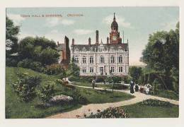 Town Hall And Gardens, Croydon - London Suburbs