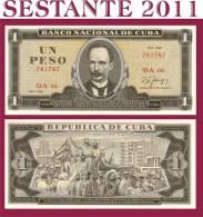 CUBA - 1 PESO 1986 - P 102c - FDS / UNC ,  FREE SHIPPING FOR 75,00 € - Cuba