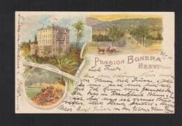 Cartolina 1911 Pension Bonera Nervi Genova - Genova (Genoa)