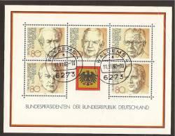 Block 18 - 1982 Mit Tagesstempel - BRD