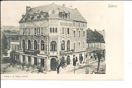 Zabern Café Central Cpa Bon état - Ohne Zuordnung