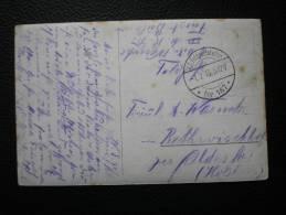 Feldpoststation Nr 167 - WINDAU - Carte Photo Avec Mine - 1.7.15 - Covers & Documents