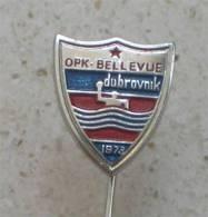 WASSERBALL CLUB  Bellevue Dubrovnik ( Kroatien  ) Pin Badge Waterpolo Water Polo Pallanuoto Polo Acuatico - Wasserball