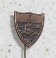 WATER POLO CLUB Bellevue Dubrovnik ( Croatie ) * Pin Badge Waterpolo Wasserball Pallanuoto Polo Acuatico - Water-Polo