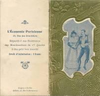 28Maq    INVITATION ET PROGRAMME DU BAL EN 1904 DE L'ECONOMIE PARISIENNE Sté COOPERATIVE DE CONSOMMATION 10eme Gde FETE - Baile