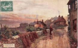 COVERACK CORNWALL  8523 (DESSIN) 1910 - Angleterre