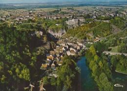 Cp , 89 , MAILLY-LE-CHATEAU , Vue Générale Aérienne , Vierge , Ed : Combier - Autres Communes
