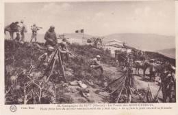 CPA MAROC @ Campagne Du Riff 1925 - 1926 @ Le Poste Des Beni Derkoul Le 3 Mai 1925 @ - Maroc