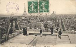 Paris- Panorama Pris De L'Arc De Triomphe. - Panoramic Views