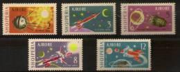 ALBANIA  Cosmos. Various Topics - Space