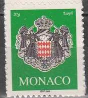 Monaco 2005 Yvert 2502 Neuf ** Cote (2015) 1.30 Euro Armoiries - Monaco
