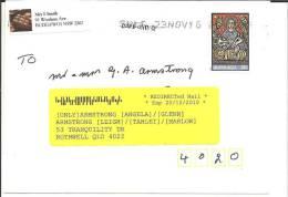 AUS291 / Nachgesandte Post (re-directed Mail) 2010. Weihnachten/X-mas. - 2010-... Elizabeth II