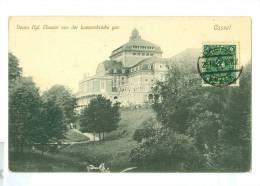 AK * CASSEL * KASSEL* NEUES THEATER * LOEWENBRUCKE * VERSAND IN 1922 Von CASSEL Nach WINTERSWIJK NL  (59) - Kassel
