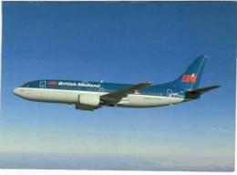 Thème - Transport - Avion - Avimage N° 30 - BM British Midland - Boeing 737-300 - 1946-....: Moderne