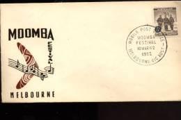 S0005 Melbourne Moomba Festival - Storia Postale