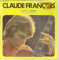 """45 Tours EP - CLAUDE FRANCOIS - PHILIPS 424555 - """" ELOISE """" + 2 - Vinyles"""