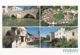 Cp , 32 , FOURCES , Le Village , Vue Générale , Multi-Vues - Non Classés