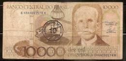 Brazil Banknote - 10000 Cruzeiros - Brésil