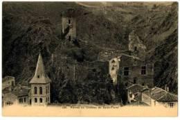 CPA 63 Puy-de-Dôme Saint-floret Ruines Du Château - Andere Gemeenten
