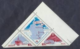Russia USSR 1966 Mi# 3181-3183 Antarctica MNH * * - 1923-1991 USSR
