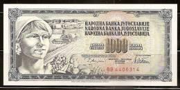 Yugoslavia 1978 Banknote - 1.000 Dinara - Jugoslawien