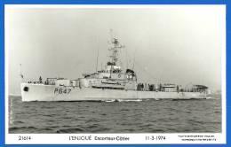 Marine Nationale - Escorteur Côtier L´ENJOUE  (PM03 112) - Warships