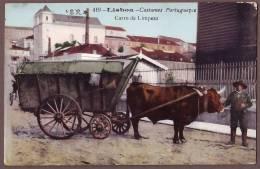 Portugal  LISBOA  Carro De Limpeza   Pg58 - Lisboa
