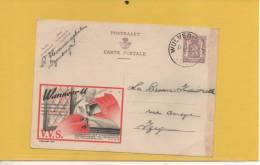 N° 844 SÉCURITÉ V V S  VOIR SCAN POUR ETAT - Stamped Stationery