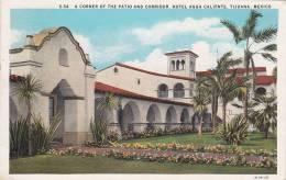 A Corner Of The Patio And Corridor, Hotel Agua Caliente, Tijuana, Mexico, PU-1912 - Mexique