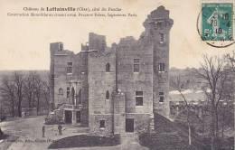 CPA - 60 - LATTAINVILLE - Château - Côté Du Porche - Chantilly