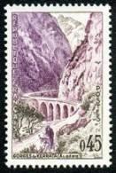 France N° 1237 ** Les Gorges De Kerrata - Algérie - Ane - Pont - France