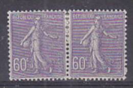 FRANCE - 200* (paire) Cote 13,80 Euros Depart à 10% - 1903-60 Semeuse Lignée
