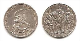 Lot Pièce ZWEI MARK  Deutsches Reich 1913 Argent Commémorative Centenaire De La Défaite De Napoléon I Très Rare - [ 2] 1871-1918: Deutsches Kaiserreich