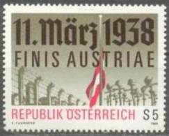 1988 Finis Austriae ANK 1945 / Mi 1914 / Sc 1422 / YT 1742 Postfrisch/neuf/MNH - 1945-.... 2. Republik