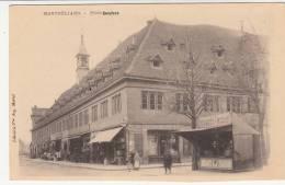 25 - Montbéliard - Place Denfert - Editeur: Martel (magasin Aux Nougat Russe) - Montbéliard