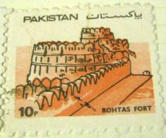 Pakistan 1984 Rohtas Fort 10p - Used