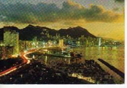 VICTORIA LOOKING DOWN FROM EAST DISTRICT  HONG KONG  OHL - China (Hongkong)