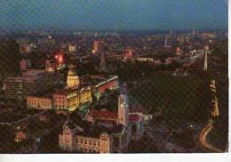 NIGHT VIEW OF SINGAPORE CITY  OHL - Singapore