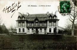 CPA 35 RENNES N°1207 LE CHATEAU DE BAUD 1910 - Rennes