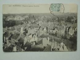 PLOERMEL ( 56 )  HOPITAL ET QUARTIER NORD EST  CPA  1927 - Ploërmel