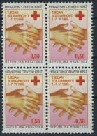 Croatia  1995 - Red Cross -  MNH Michel Z64 X 4 (value 1,2 EUR!!!) - Croatia