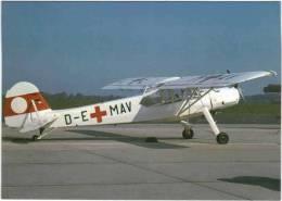Thème - Transport -  Avion - Airprint - Fieseler Fi 156 Storch - 1939-1945: 2nd War