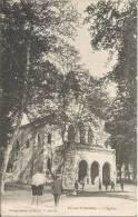 CARTE POSTALE PHOTO ORIGINALE ANCIENNE : AX LES THERMES ; EGLISE ; ARIEGE (09) - Ax Les Thermes