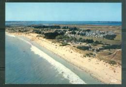 Cpsm Gf ( 10x 15 ) -   Ile De Ré - La Plage Du Boutillon Et Le Camping De L'océan    - Ln16956 - Ile De Ré