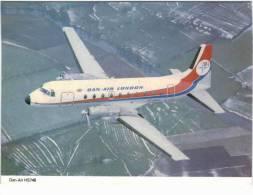 Thème - Transport - Avion - Ed. Skilton N° 424 - Dan-Air Hawker Siddeley 748 Prop Jet - 1946-....: Moderne