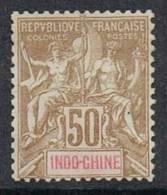 INDOCHINE N°21 NSG - Indochine (1889-1945)